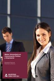 Máster Universitario en Comunicación Política y Empresarial