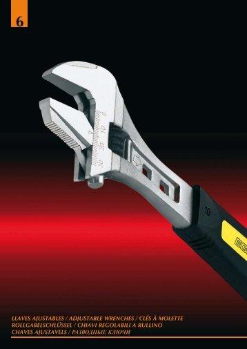 llaves ajustables / adjustable wrenches / clés à molette