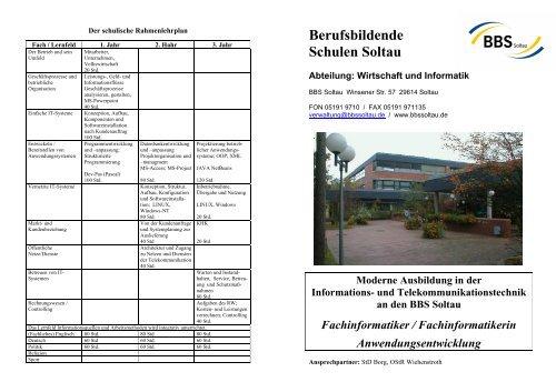 Die IT-Berufe - BBS Soltau