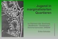Marginalisierte Quartiere