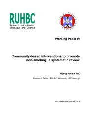 Community-based interventions to promote non-smoking: a ...