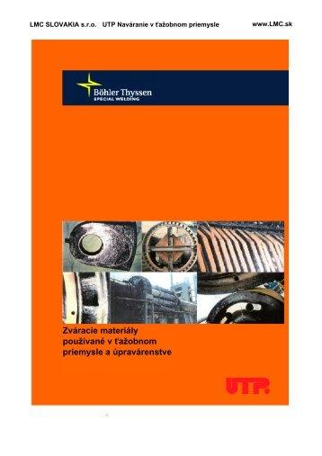 v ťažobnom priemysle (PDF, 4,64 MB) - LMC