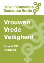 Resolutie 1325 in uitvoering - Women's International League for ...
