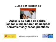 Curso por internet de Análisis de datos de control - Seguridad del ...