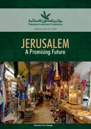 Jerusalem: A Promising Future - Palestine Investment Conference.