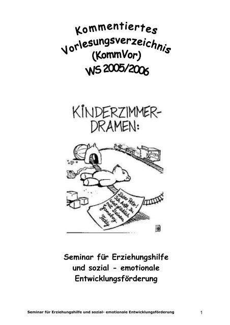 Seminar für Erziehungshilfe und sozial - emotionale ...