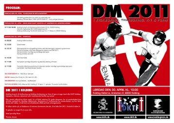 program: LøRDAG DEN 30. APRIL KL. 10.00 Dm 2011 I ... - DKTF