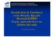Insuficiência Cardíaca com Fração Ejeção Normal(ICFEN ... - OPEC