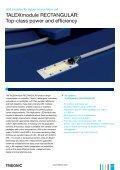Leaflet TALEXXmodule RECTANGULAR - Tridonic - Page 2