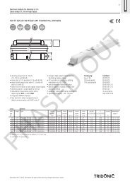 PCA T5 ECO 24–80 W 220–240 V 50/60/0 Hz, dimmable - Tridonic