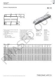 EcoTronic 18–58 W 230/240 V 50 Hz - Tridonic
