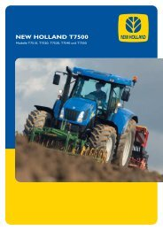NEW HOLLAND T7500
