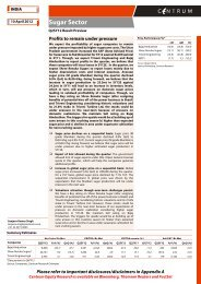 Sugar- Q2SY12 Result Preview - Centrum ... - all-mail-archive