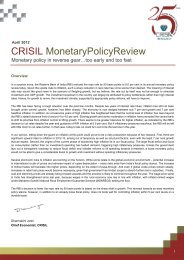 CRISIL MonetaryPolicyReview - all-mail-archive