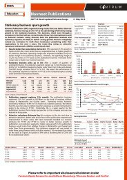 Navneet - Q4FY12 Result update - Centrum ... - all-mail-archive