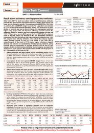 Ultra Tech Cement - Q4FY12 Result update ... - all-mail-archive