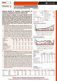 Gujarat Gas - Q1CY12 Result Update - Centrum ... - all-mail-archive