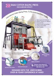 Bajaj Cotton Baling Press