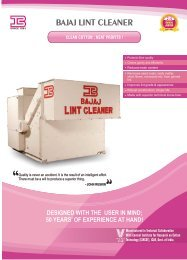 BAJAJ LINT CLEANER