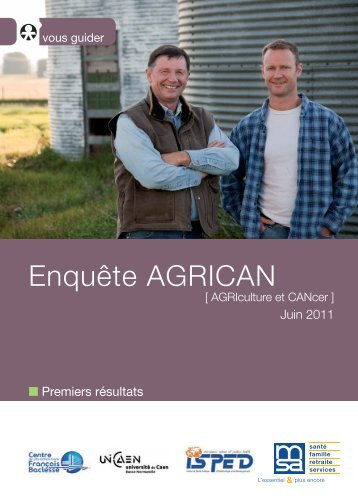 01_AGRICAN_Resultats_Juin2011