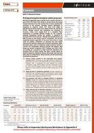 Cement - Q4FY12 Result Preview - Centrum ... - all-mail-archive