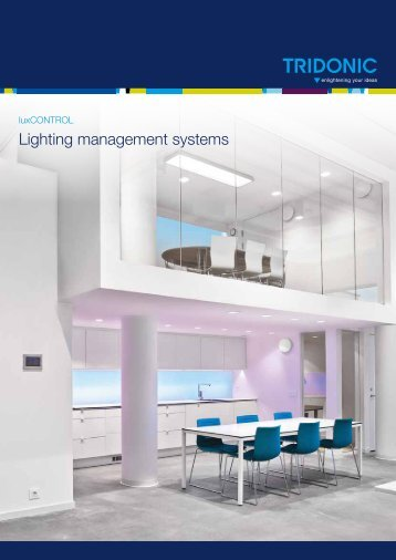 Lighting management systems - Tridonic