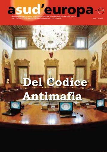 A Sud D'Europa - Comune di Piana degli Albanesi