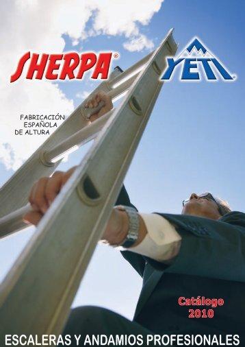 catálogo sherpa