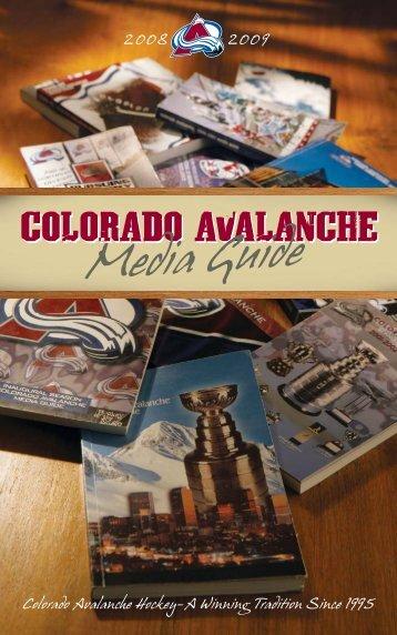 Colorado Avalanche Media Guide - NHL.com