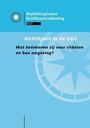 downloaden - GGZ-richtlijnen