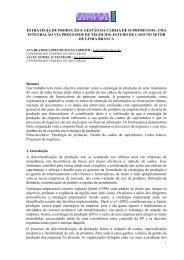 estratégia de produção e gestão da cadeia de suprimentos - Simpoi