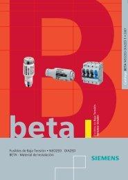 BETA1_Fusibles DZD_NZD_05.07_Esp.pdf - SETAMS SA