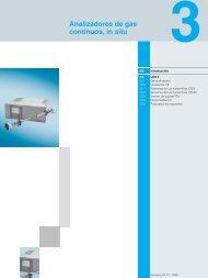 Analizadores de gas continuos in situ.pdf - SETAMS SA