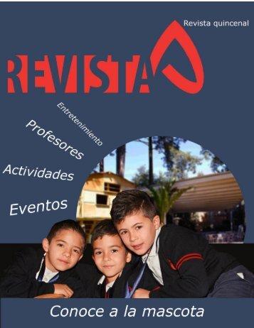 Revista Colegio Antares