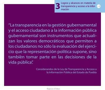 """""""La transparencia en la gestión gubernamental y el acceso ... - CAIP"""