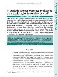Irregularidade nas outorgas realizadas para ... - Revista do TCE