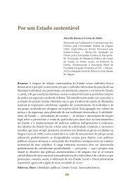 Por um Estado sustentável - Revista do TCE
