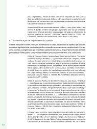 Procedimentos após a homologação - Revista do TCE
