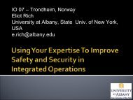 Using Your Expertise To Improve Safety and Security in IO - Ioconf.no