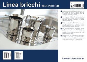Linea bricchi MILK PITCHER - Bialetti