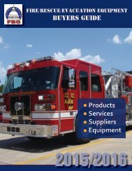 Fire, Rescue, Evacuation Equipment Buyers Guide
