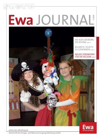 Ewa Journal 01 / 2010