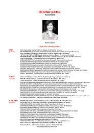 REGINA SCHILL - Andreas Gergen Creative Agency Berlin Musical