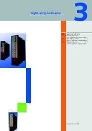 Light-strip indicator - SETAMS SA