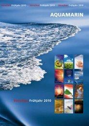 Vorschau Frühjahr 2010 - Aquamarin Verlag