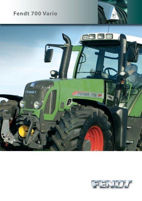 Fendt 700 Vario - AGCO GmbH