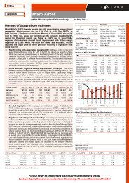 Bharti Airtel - Q4FY12 Result update - Centrum ... - all-mail-archive