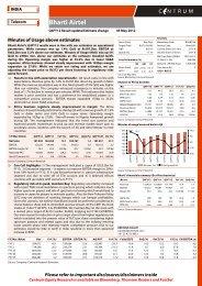 Bharti Airtel - Q4FY12 Result update - Centrum ... - all-mail-archive