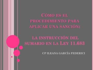 Cómo es el procedimiento para aplicar una sanción: la instrucción ...