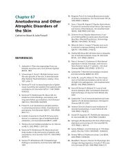Chapter 67 Anetoderma and Other Atrophic Disorders of the Skin